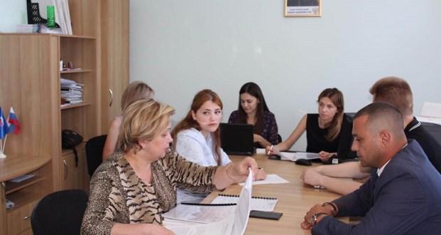 Наталья Поклонская провела прием граждан в Судаке