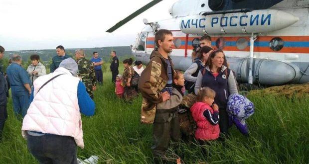 Детей из зоны наводнения в Иркутской области отправят на отдых в Крым
