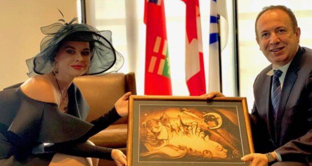 Ксения Симонова стала специальным гостем благотворительного бала мэра канадского города Вон