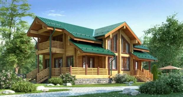 Клееный брус - отличный материал для деревянного дома