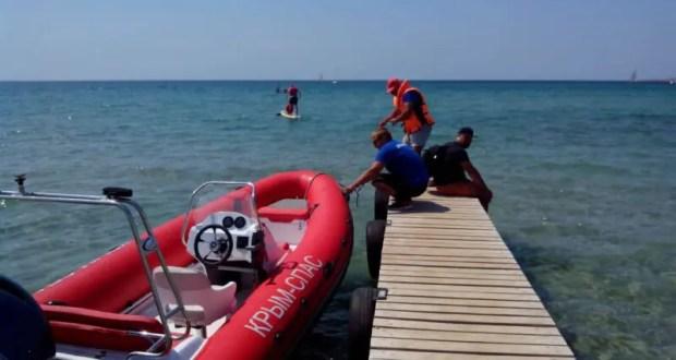 В Алуште спасли 52-летнего «пловца»