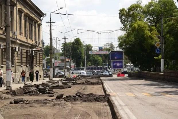Как проходит капитальный ремонт улицы Александра Невского в Симферополе