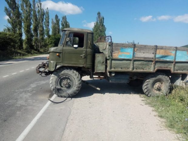ДТП в урочище Шахмурза: не разъехались ГАЗ-66 и «Infiniti»
