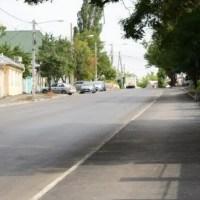 В Симферополе завершают благоустройство улицы Студенческой