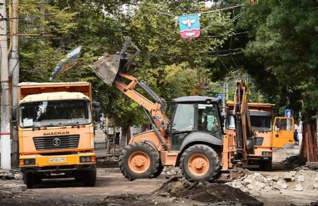 Как продвигаются ремонтные работы на улице Александра Невского в Симферополе