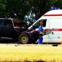 Страшное ДТП на трассе «Джанкой – Симферополь», в районе села Новостепного