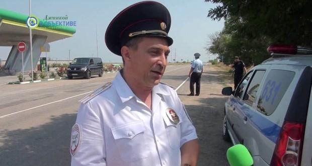 Госавтоинспекция Джанкоя борется с нелегальными пассажирскими перевозками