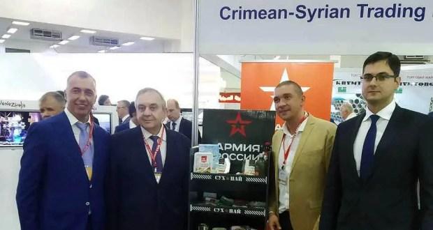 Крым планирует сотрудничать с Сирией в сферах транспорта, судоремонта, торговли и промышленности