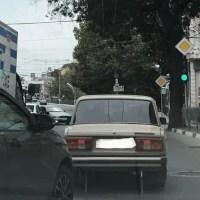 Вниманию автомобилистов: в центре Симферополя установлен не логичный, но пока нужный светофор