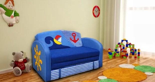 Основные критерии выбора диванов для детей
