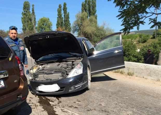 На спуске в Балаклаву – серьезное ДТП, ставшее причиной огромной пробки