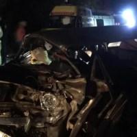 ДТП на дороге Грушевка – Судак: столкнулись две легковушки. Лоб в лоб
