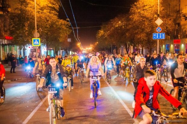 21 сентября в Севастополе - пятый ежегодный велофестиваль «ВелоНочь»