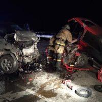 Ночное ДТП на трассе «Таврида»: в столкновении микроавтобуса и «восьмерки» погиб человек