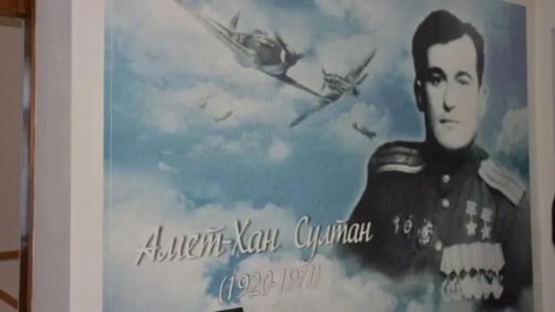 В Алупке отметили 99-летие со дня рождения Амет-Хана Султана