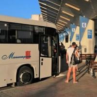 За крымскими междугородними автобусами установили видеослежку. Узнали много интересного