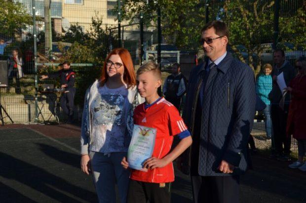 В Евпатории определили победителей турнира по дворовому футболу