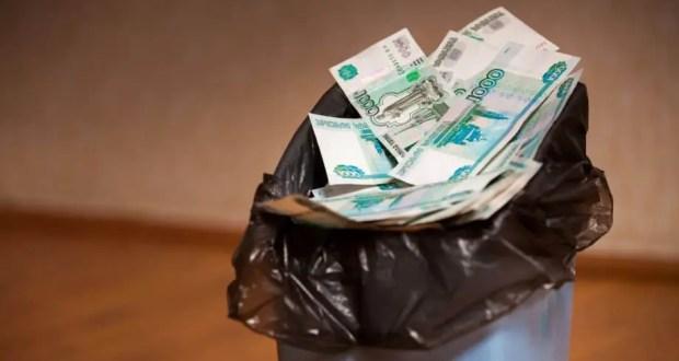 В Симферополе плату за вывоз мусора брали вдвойне