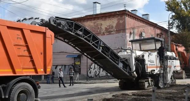 В Симферополе, на улице Александра Невского начинается третий этап работ