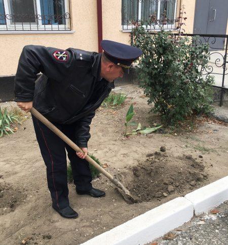 """В Нижнегорском районе создали """"Аллею памяти"""""""