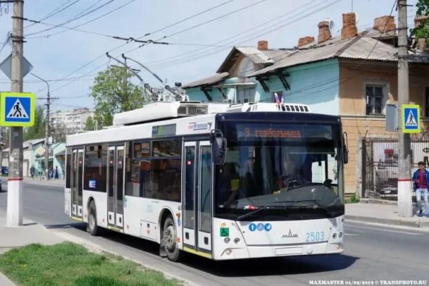 60 лет троллейбусному движению в Симферополе