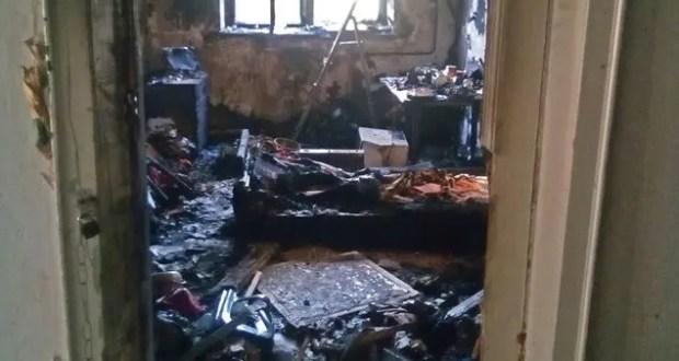 Ночной пожар под Феодосией. Погибла пожилая женщина