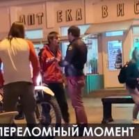 В центре Симферополя журналист, сделав замечание нарушителю, «заработал» перелом