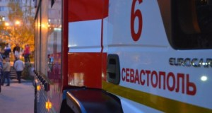 ДТП в Севастополе - столкнулись три автомобиля