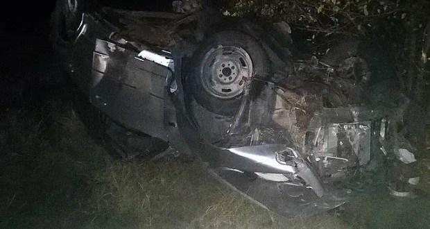 Вечернее ДТП на трассе «Симферополь – Керчь»: в «перевертыше» двое пострадавших
