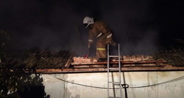В Бахчисарайском районе из-за пожара семья в прямом смысле осталась без крыши над головой