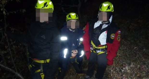 Происшествие в Крыму: трое подростков ушли гулять по Боткинской тропе и заблудились