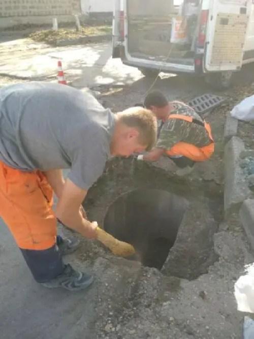В Симферополе коммунальщики озадачены проблемами улично-дорожной сети