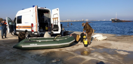 В акватории Феодосийского залива обнаружили донную мину
