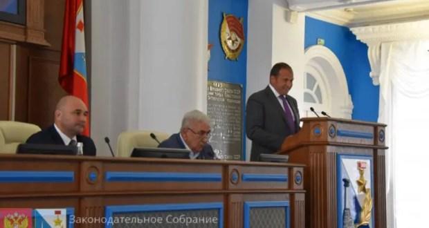 Илья Журавлёв избран третьим вице-спикером Заксобрания Севастополя