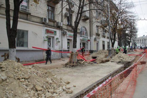 Наблюдательный совет мониторит ход реконструкции Большой Морской в Севастополе