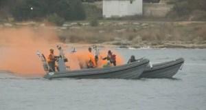 Учения нового подразделения морской военной полиции Черноморского флота