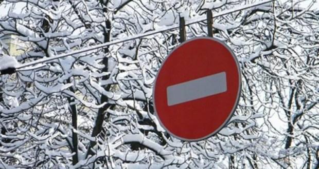начнут действовать временные ограничения движения транспортных средств в зимний период