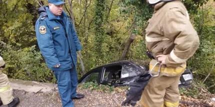 Крымские спасатели приходят на помощь автомобилистам