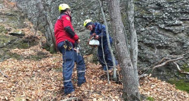Инцидент в Долине Привидений - заблудилась женщина