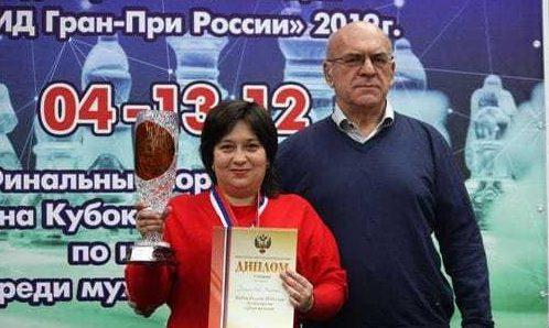 Крымчанка Оксана Грицаева - обладательница Кубка России по шахматам
