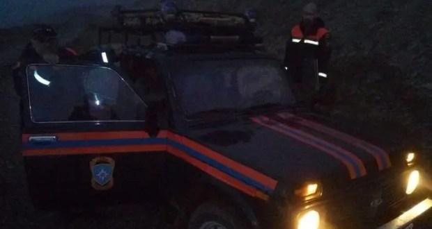В районе пгт. Орджоникидзе всю ночь искали дорогу домой двое парней