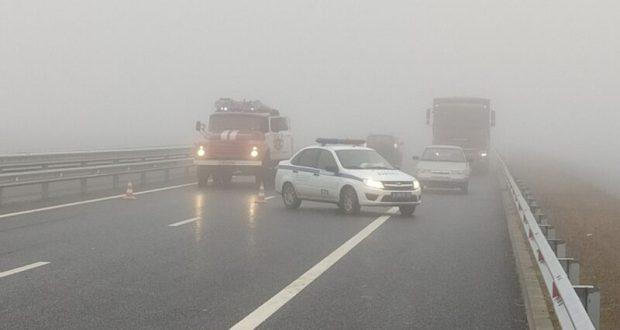 МЧС и ГИБДД предупреждают: на крымских дорогах – ограниченная видимость, туман