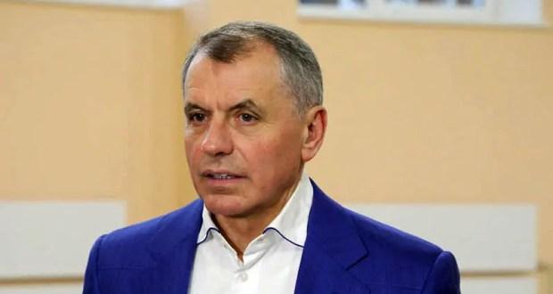 Поздравление спикера парламента Крыма Владимира Константинова с Новым годом