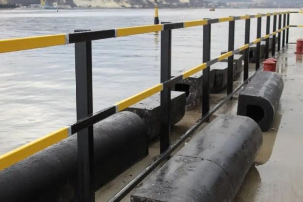 В Троицкой бухте Севастополя привели в порядок причал №65