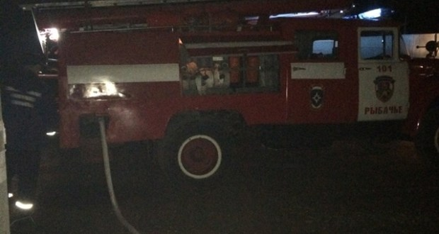 ЧП в Алуште: бомжи устроили пожар