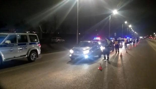 В Симферопольском районе инспекторы ДПС устроили массовую облаву на нетрезвых водителей