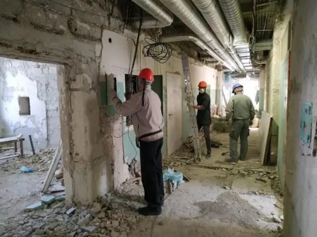 В поликлинике севастопольского онкодиспансера стартовал последний этап капремонта