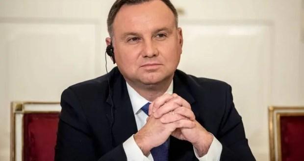 Президент Польши обвинил Россию в оккупации Крыма и Донбасса