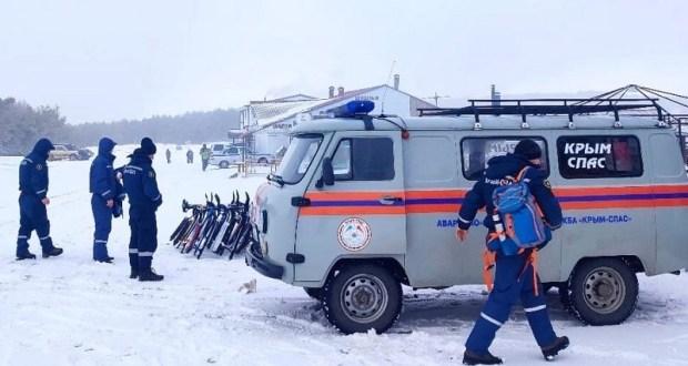 «КРЫМ-СПАС» обеспечивает безопасность на Ангарском перевале и плато Ай-Петри