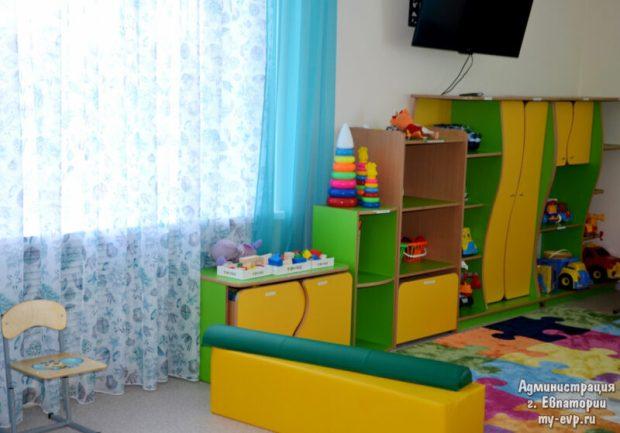В Евпатории открыли новый старый детский сад